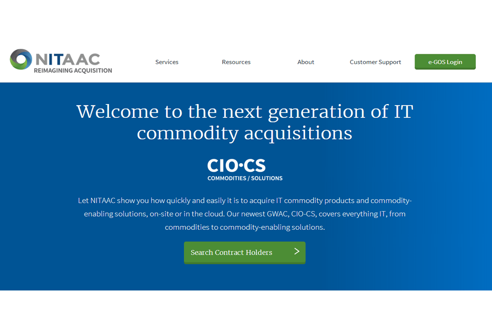 Link to NITAAC CIO-CS website